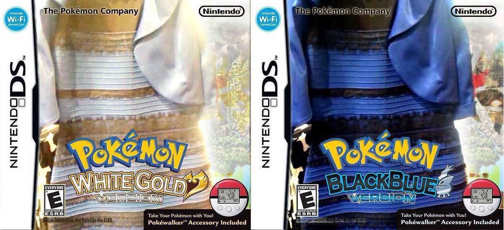 Pokemon Versions Thedress What Color Is This Dress Know Your