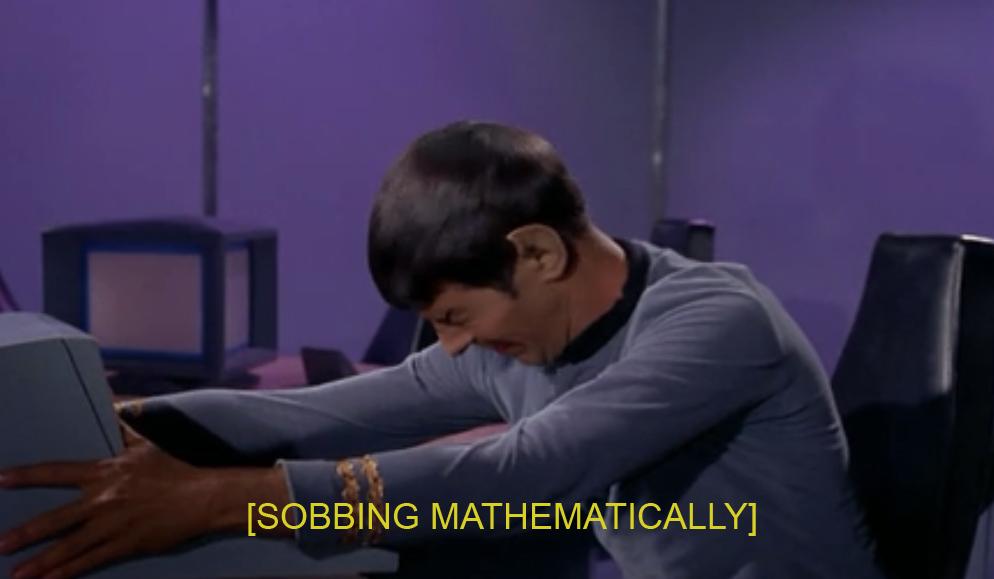 sobbing mathematically descriptive noise know your meme