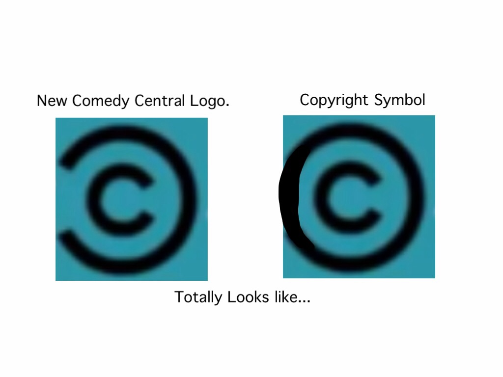 This New Comedy Central Logo Looks Like A Copyright Symbol Know