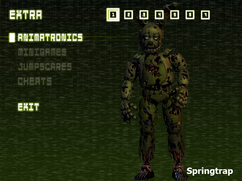 springtrap full body   Five Nights at Freddy's   Know Your Meme