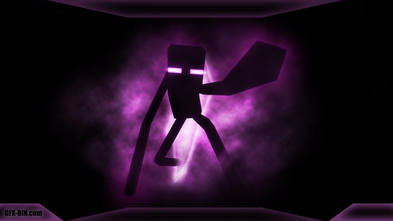 Com Minecraft Pocket Edition Purple Violet Light Darkness