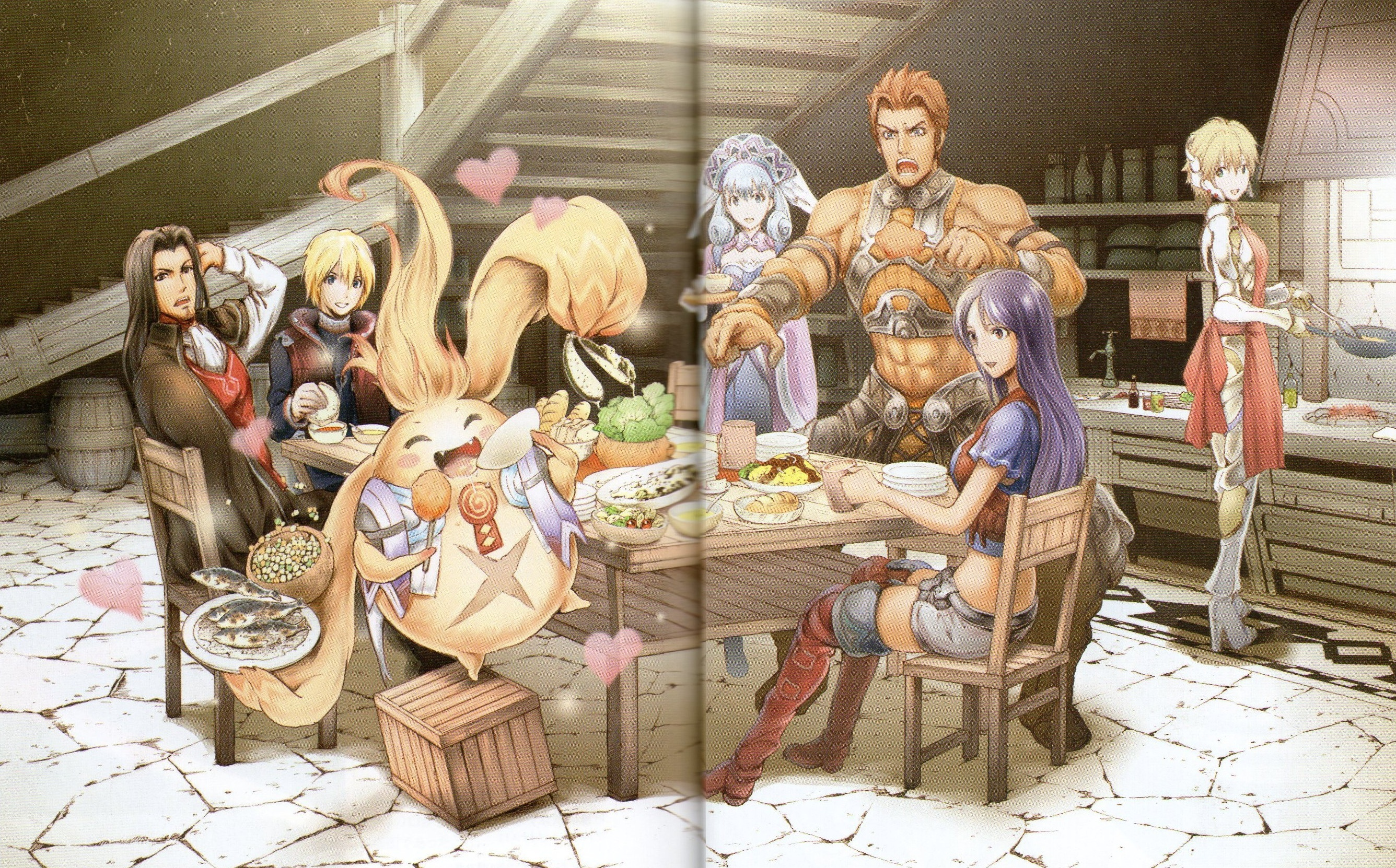 Dinner Party | Xenoblade Chronicles | Know Your Meme