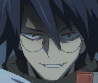 Villain In Glasses Being Smug Shiroe Smug Anime Face Know