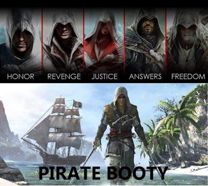 Booty Ftw Assassin S Creed Know Your Meme