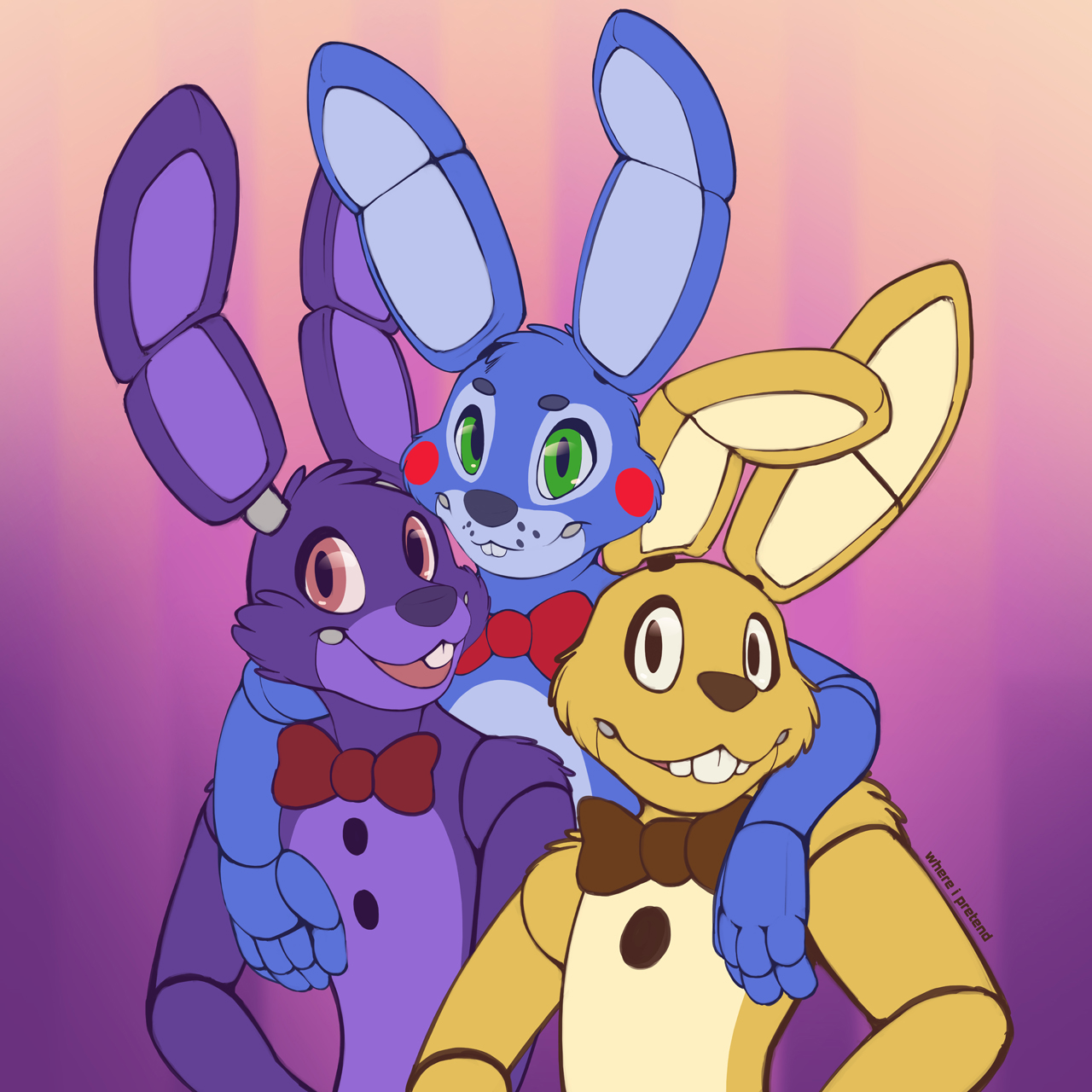 Five Nights At Freddy's Bonnie Animated best bonnie bros. | five nights at freddy's | know your meme