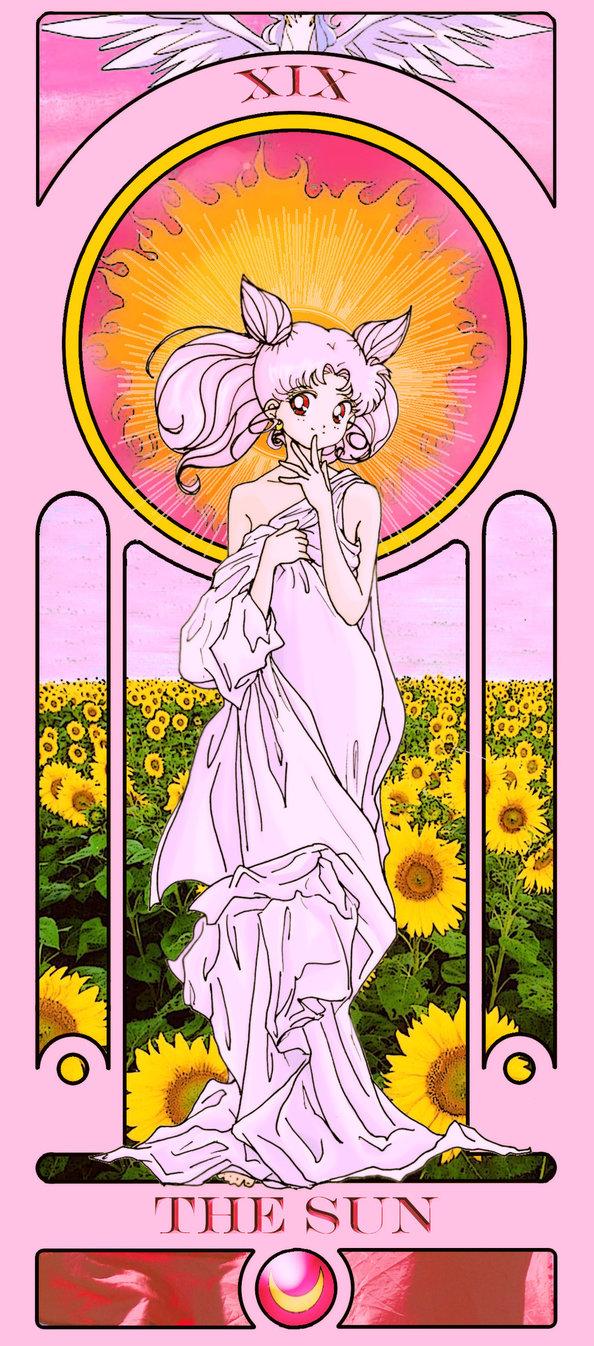 Sailor Moon Tarot: The Sun by Sillabub429 | Tarot Arcana Parodies