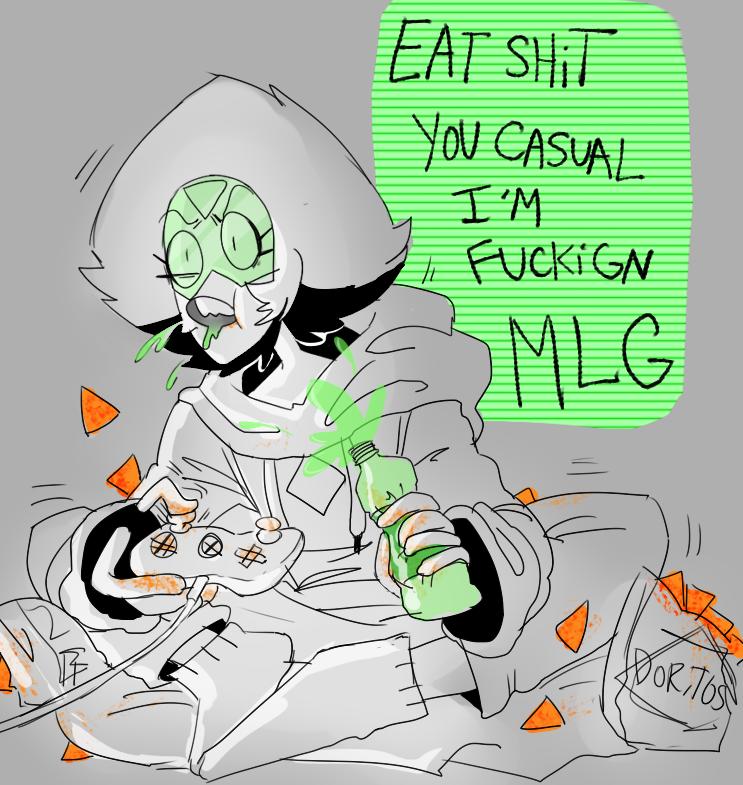 MLG Peridot | Steven Universe | Know Your Meme