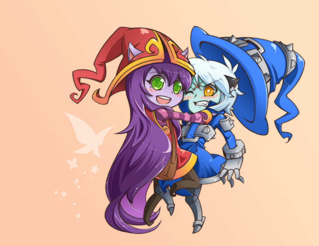 Lulu And Veigar By Yan531 League Of Legends Know Your Meme