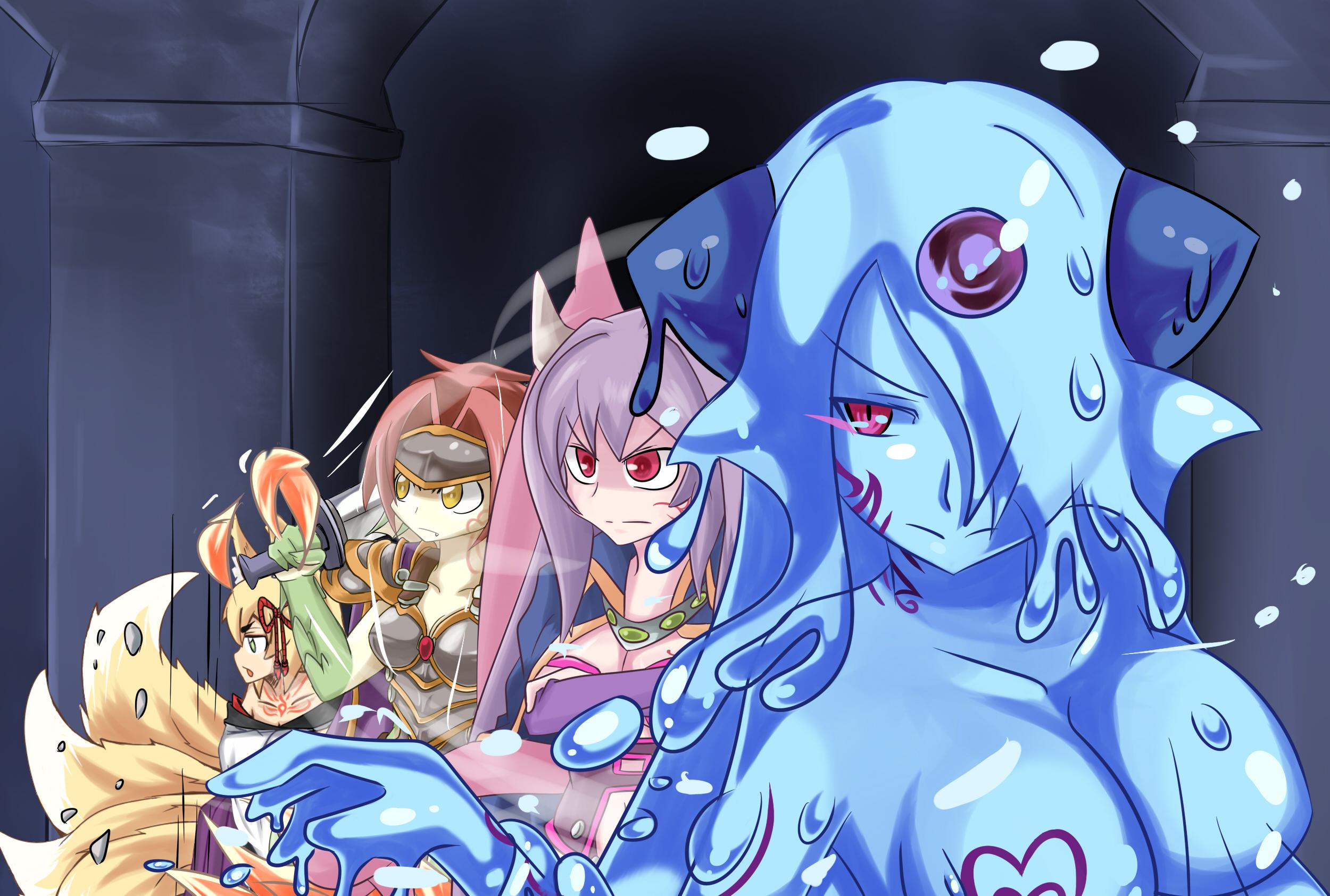 Kitsune Monster Girl Quest Dhampir