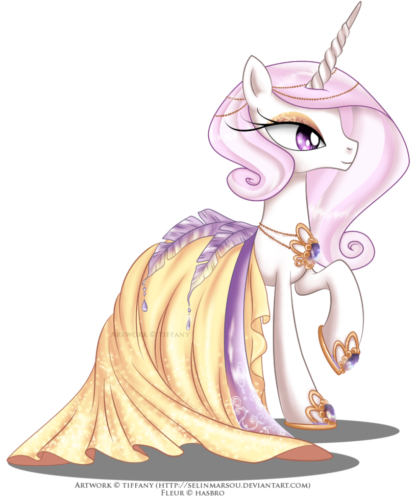 Fleur De Lis Gala Dress My Little Pony Friendship Is Magic Know