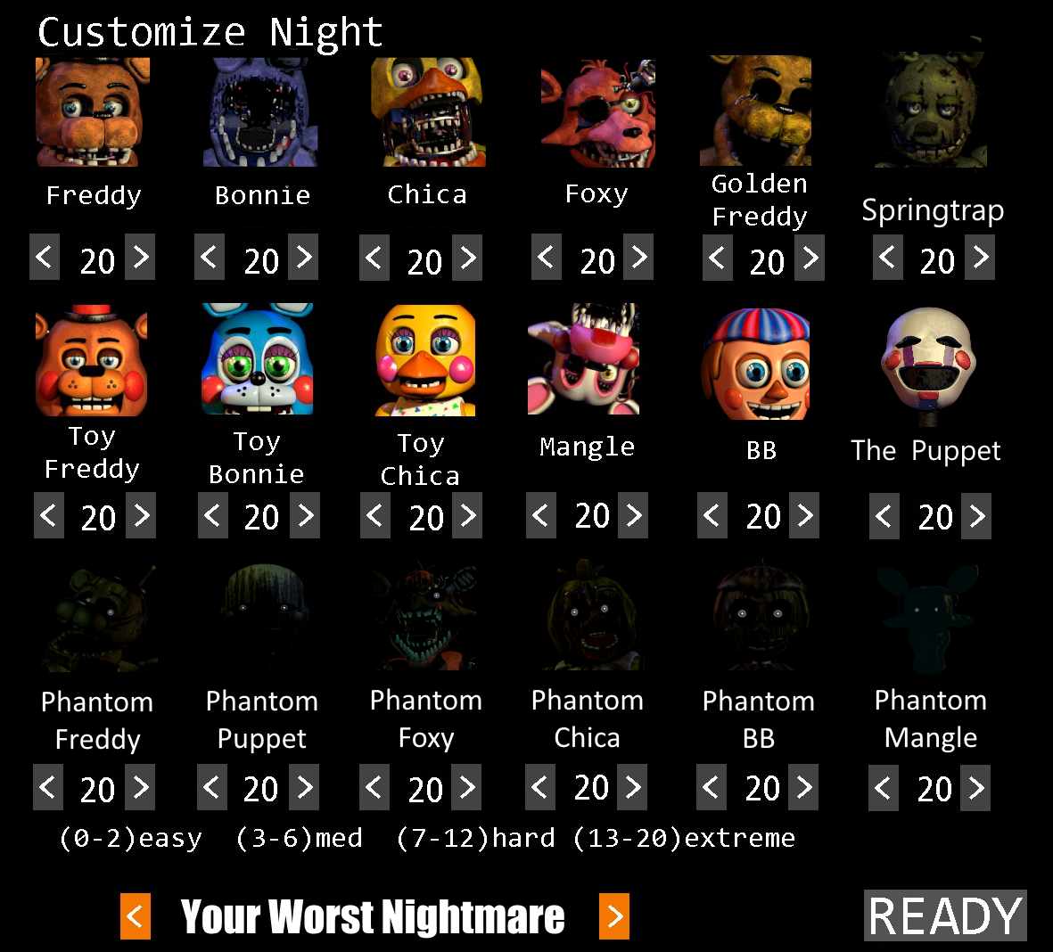nightmare | Five Nights at Freddy's | Know Your Meme