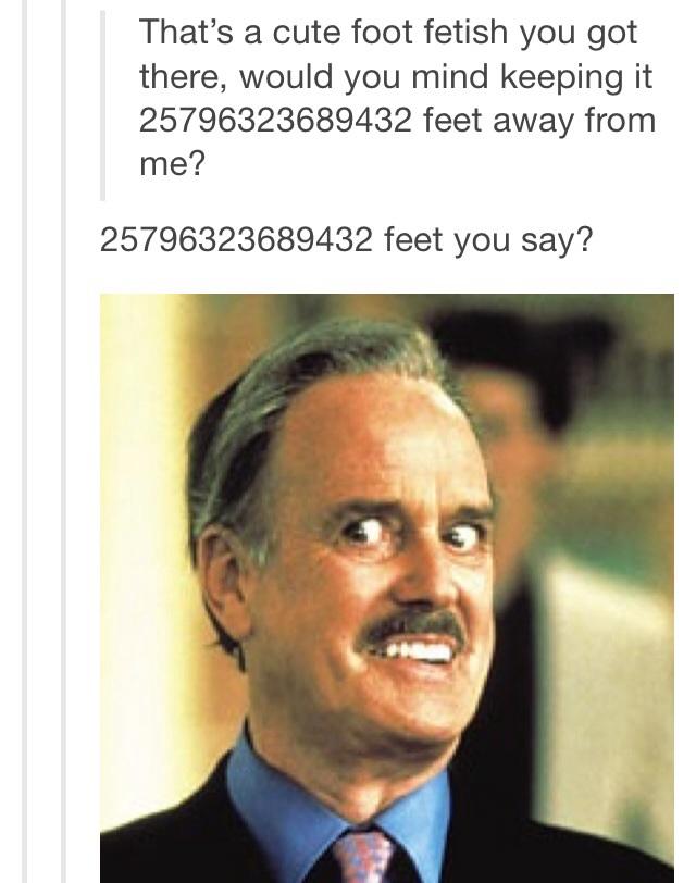 Fetish foot gay man really