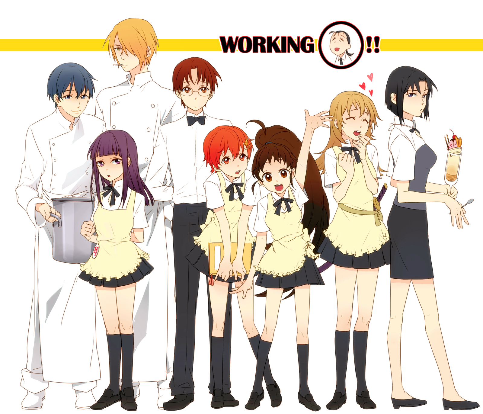 WORKINGi Clothing Anime Mangaka Uniform