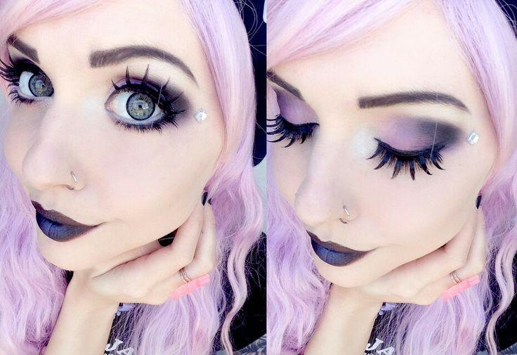 Eye Shadow Pastel Goth Know Your Meme