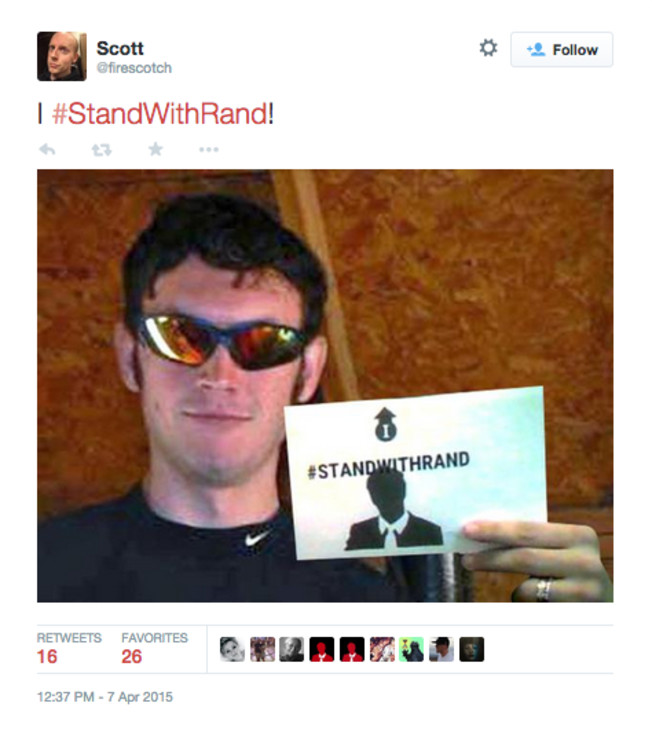 standwithrand troll rand paul know your meme