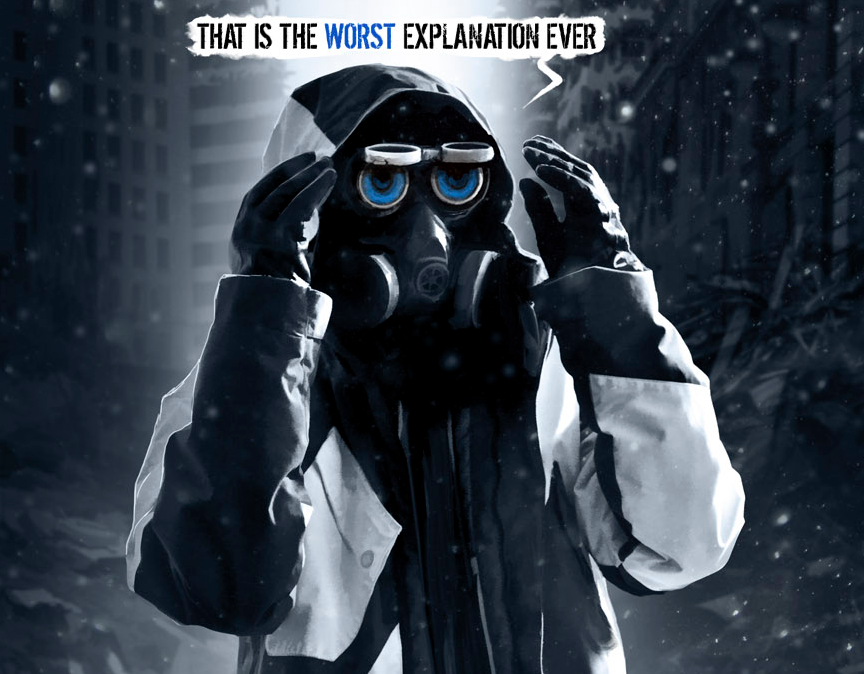 Worst Explanation Ever Romantically Apocalyptic Know Your Meme