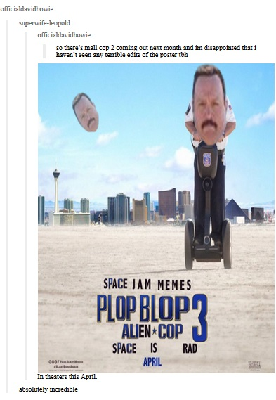 Mall Cop 3 Confirmed Paul Blart Mall Cop Know Your Meme