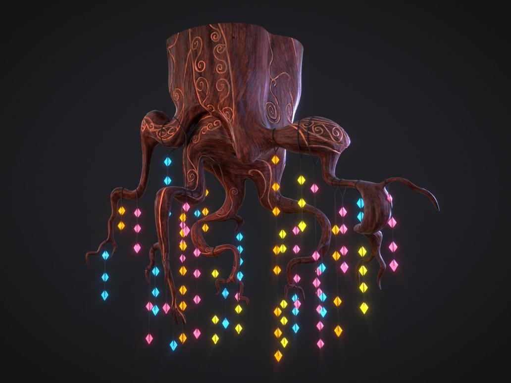 Golden oaks chandelier 3d my little pony friendship is magic pinkie pie derpy hooves lighting light aloadofball Gallery
