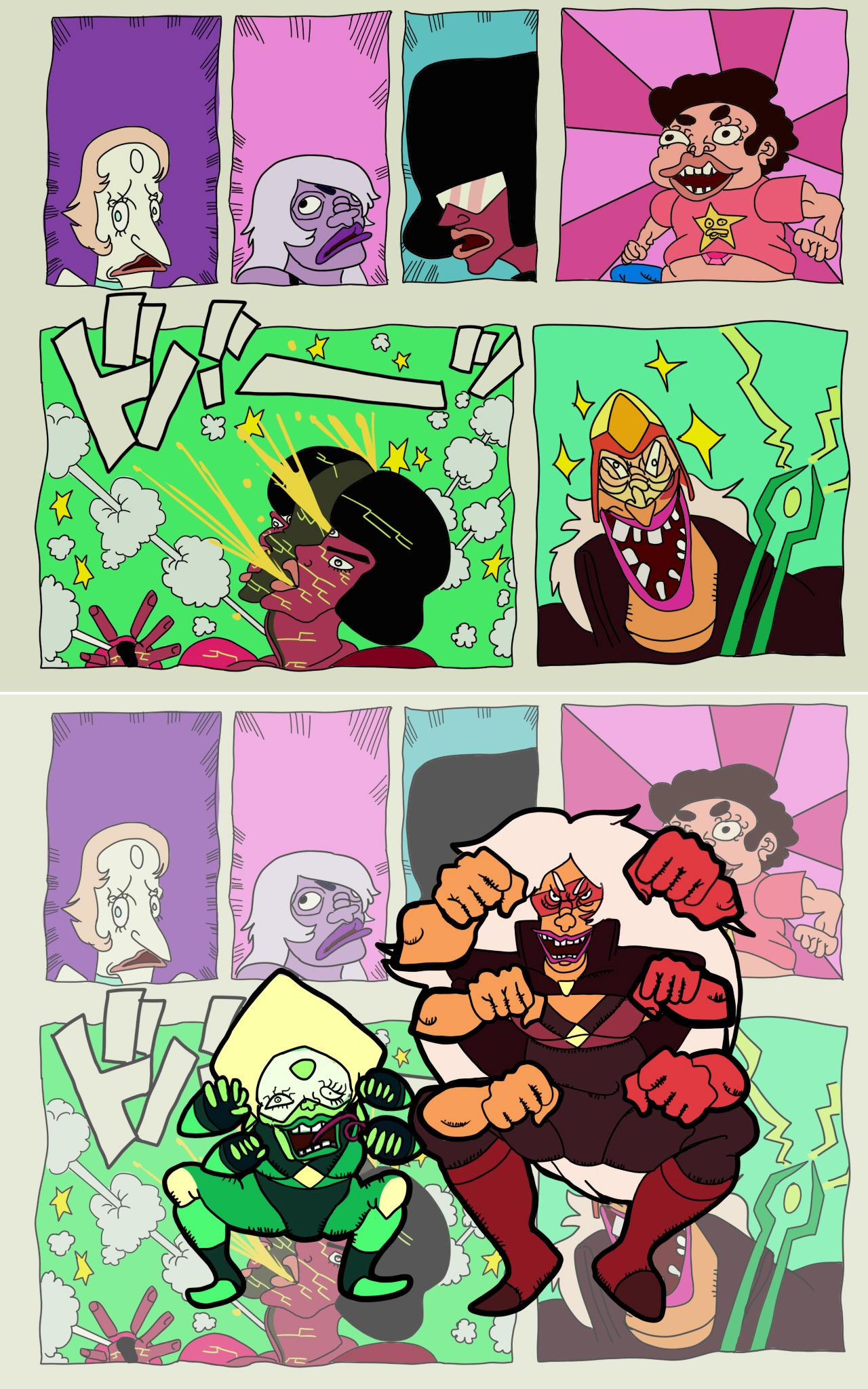 SHINJITERU ZE! | Steven Universe | Know Your Meme