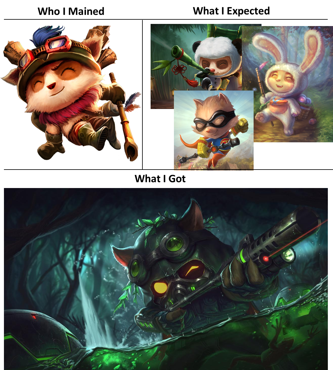 Omega Squad Teemo Is Best Teemo What I Watched What I Expected