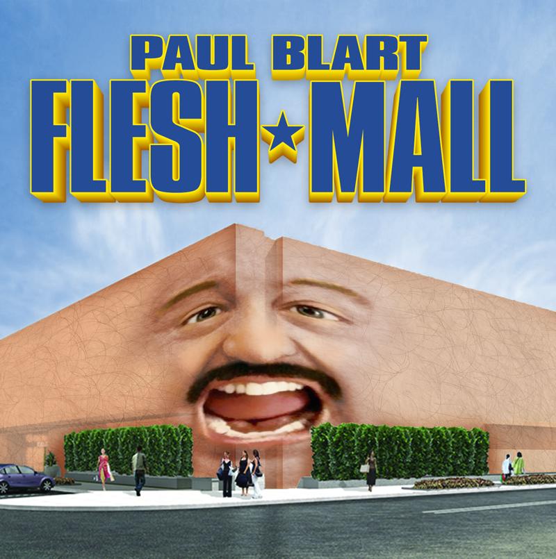 Paul Blart Flesh Mall Jayma Mays Paul Blart Mall Cop Advertising Poster