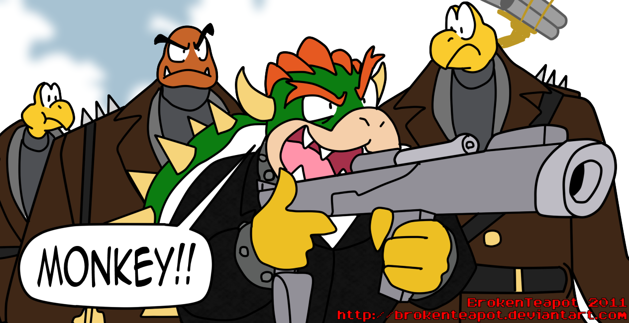 President Koopa Super Mario Know Your Meme