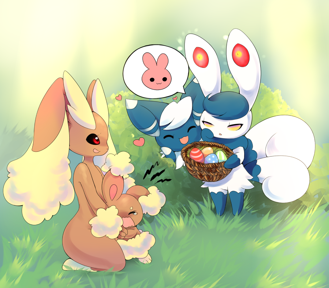 Easter Didnt Work Out Well For Buneary Pokémon Know Your Meme