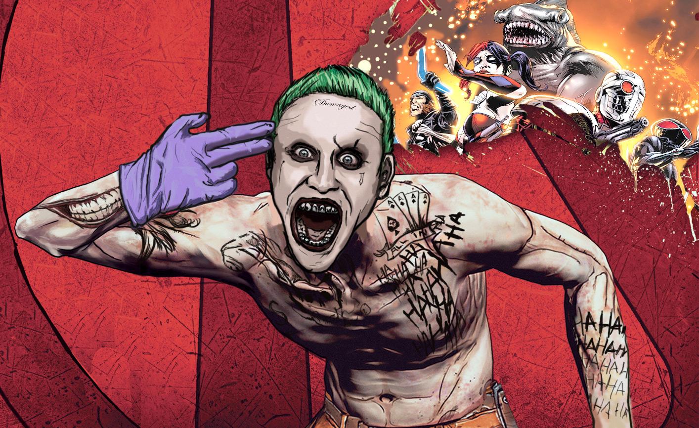 Borderlands Cover Jared Leto S Joker Know Your Meme