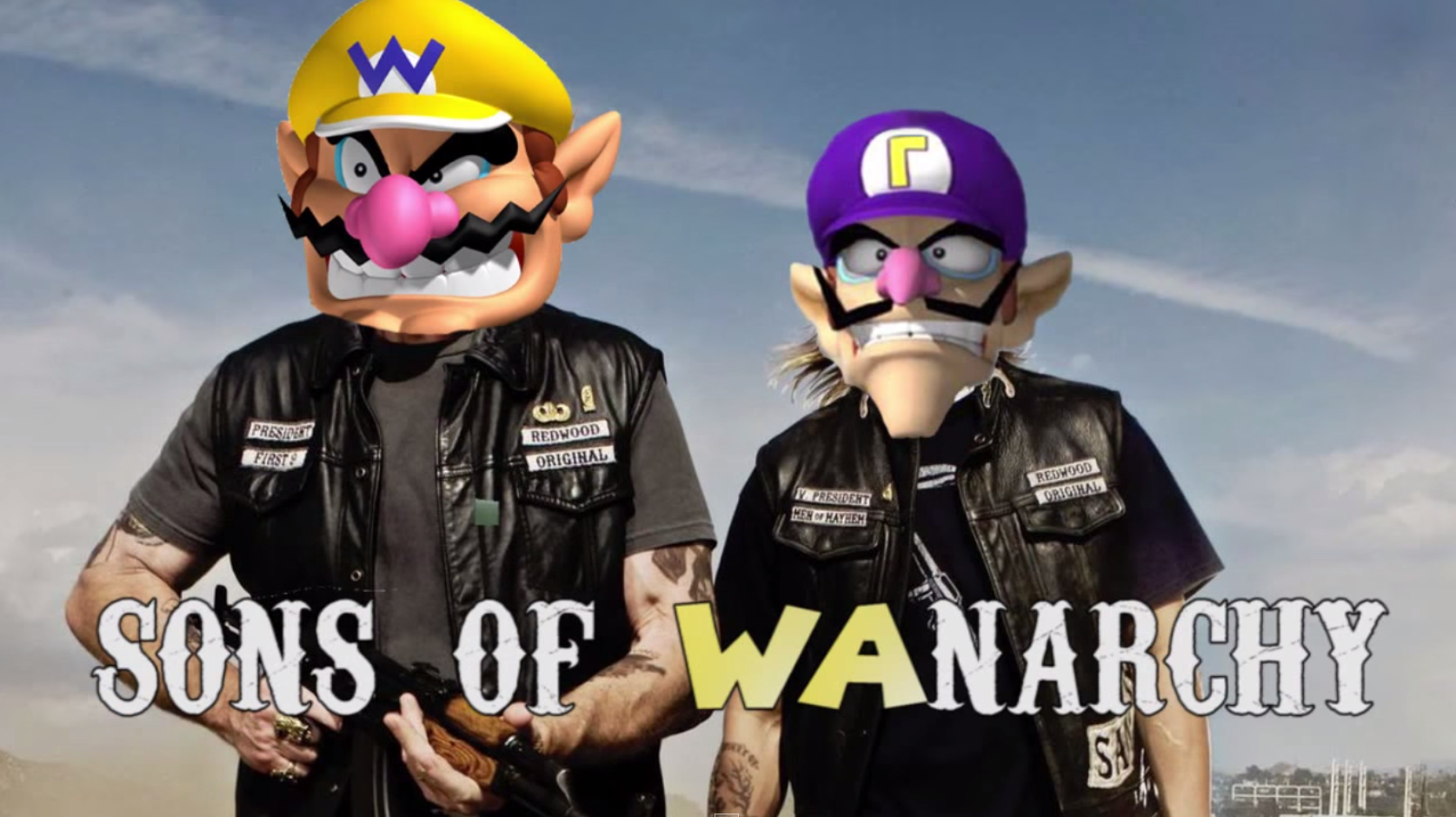 Sons Of Wanarchy Super Mario Know Your Meme