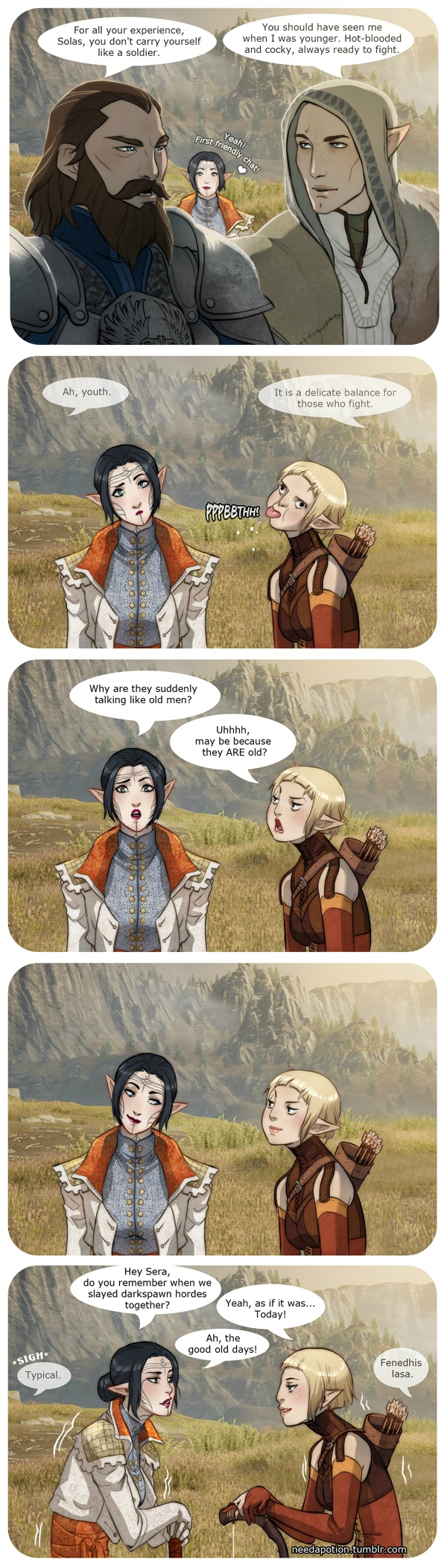 When Middle Age Men Talk Like Octogenarians Dragon Age Know