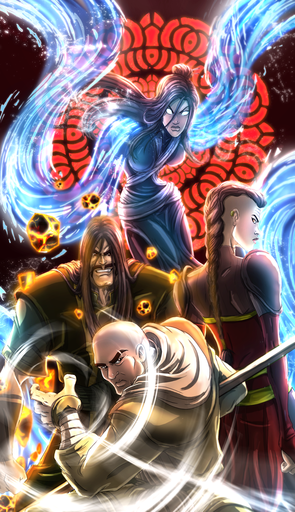 Red Lotus Avatar The Last Airbender The Legend Of Korra Know Your Meme