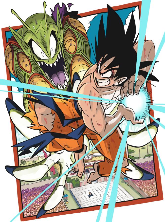 Goku Vs Piccolo Dragon Ball Know Your Meme