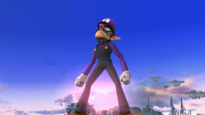 Waluigi standing up teddys. He will rise one