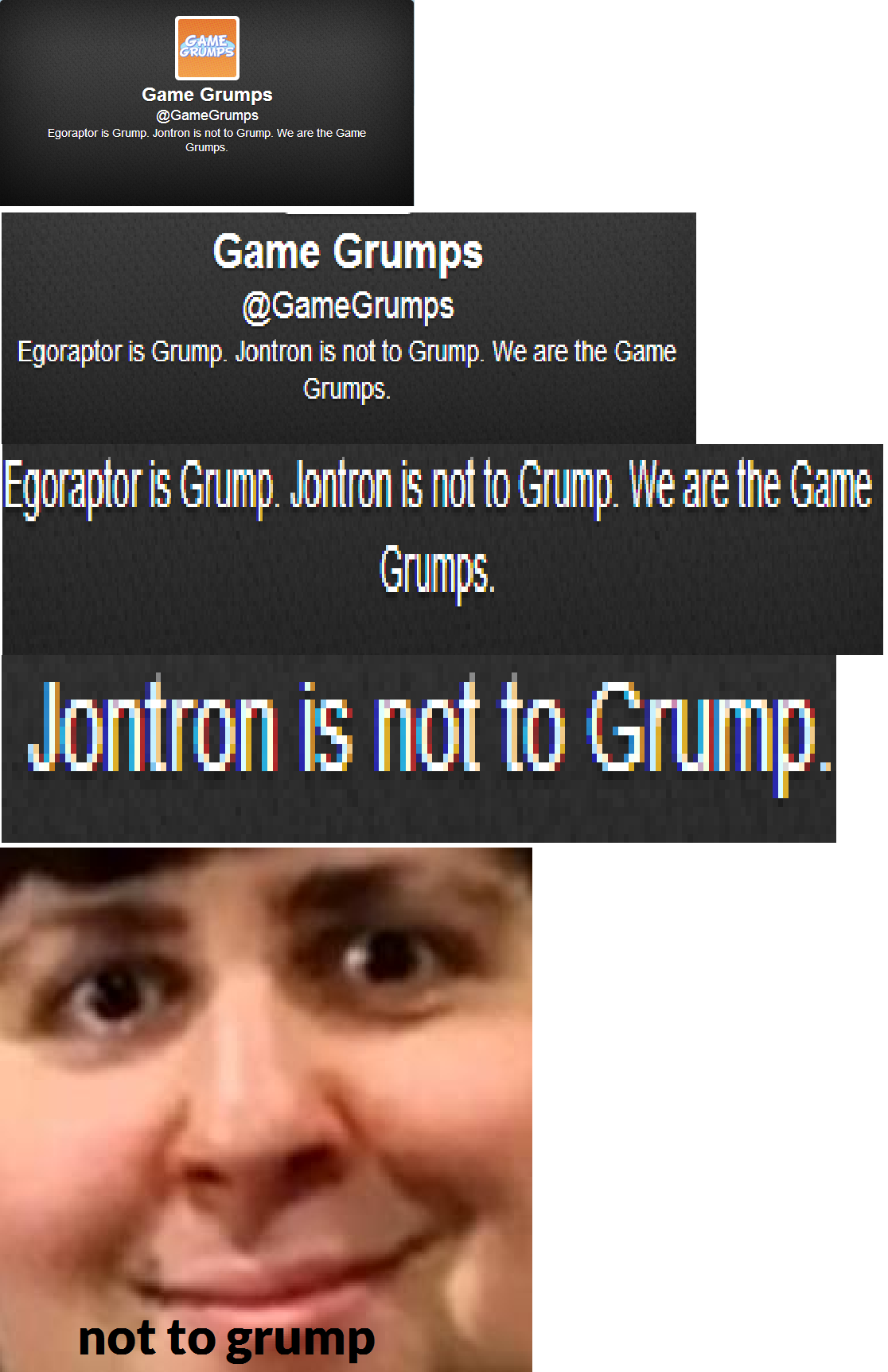 To Grump Or Not To Grump Jontron Know Your Meme