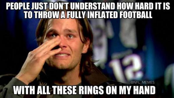Tom Brady Problems Deflategate Know Your Meme