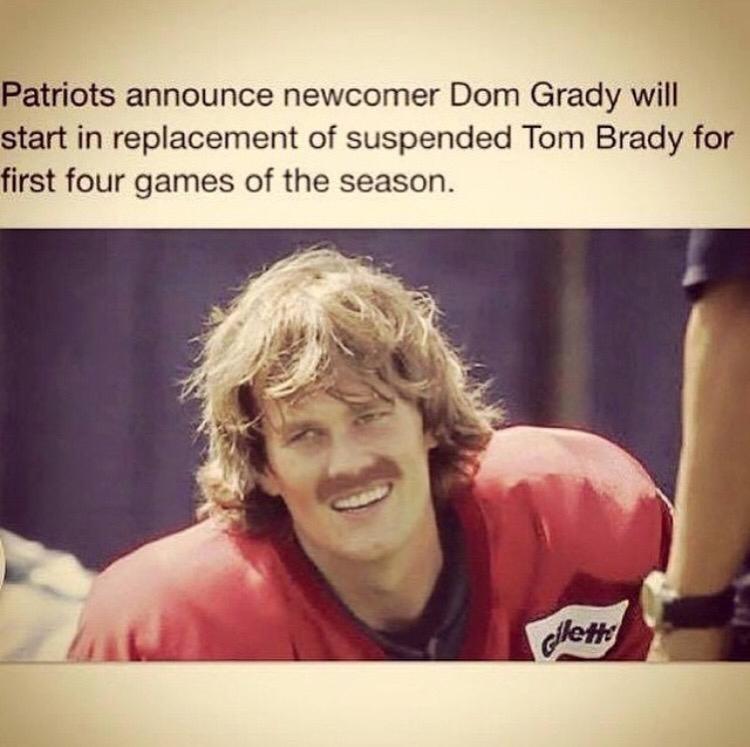 Dom Grady Deflategate Know Your Meme