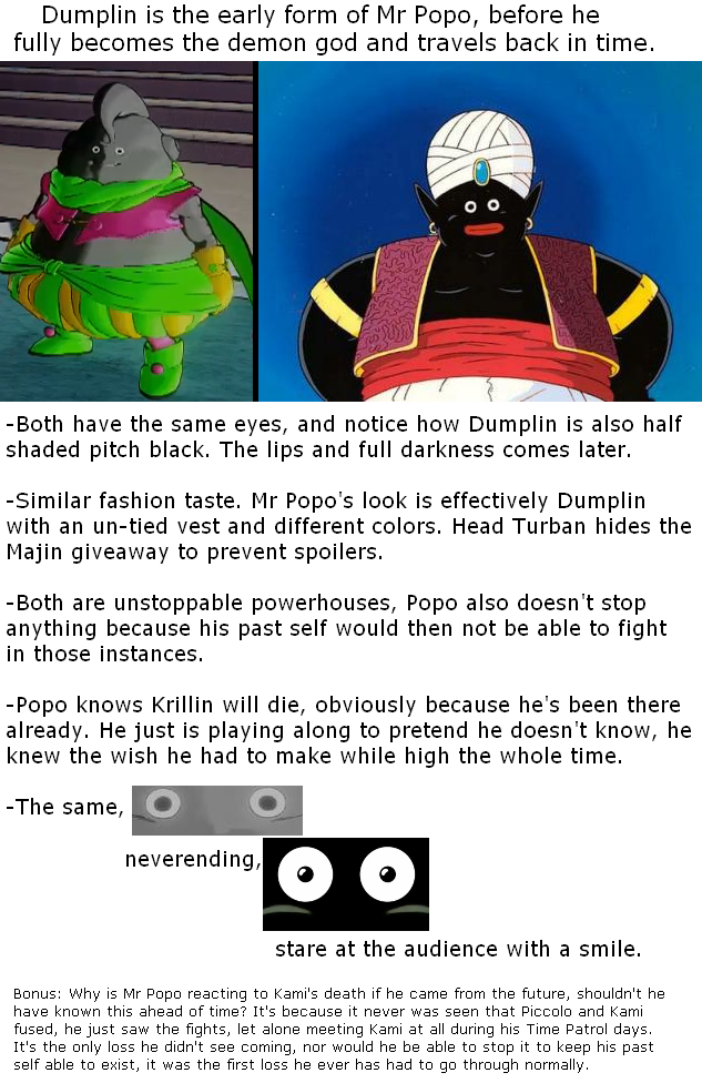 Fan Theory Dumplin Is Tfs Mr Popo From The Past Now Canon