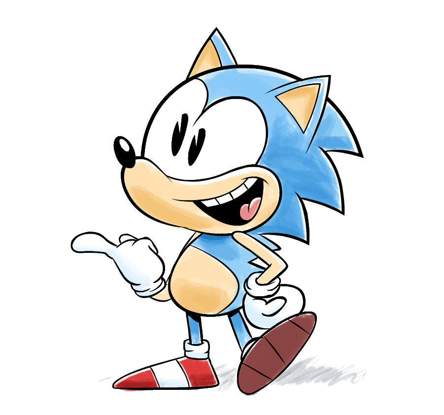 Classic Sonic Sonic The Hedgehog Know Your Meme