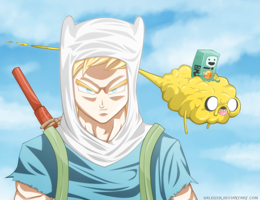 Finn the saiyan dragon ball know your meme baleizer deviantart com goku gohan vegeta trunks nappa piccolo face cartoon yellow mammal vertebrate fictional character altavistaventures Image collections