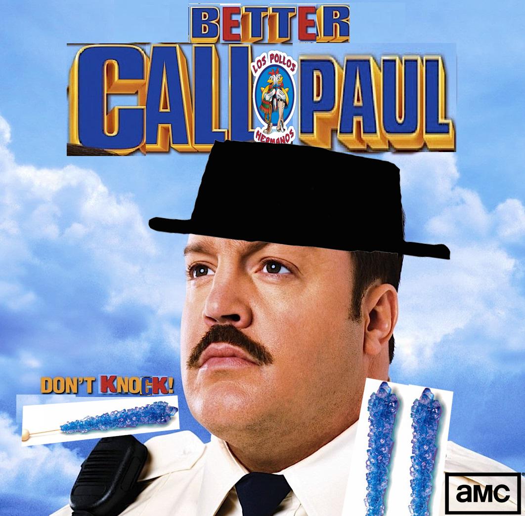 Amc Paul Blart Mall Cop Album Cover Film