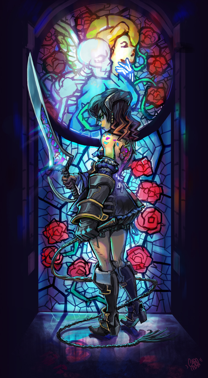 Fanart Spotlight By Mishi Mish Mash Bloodstained Ritual Of The