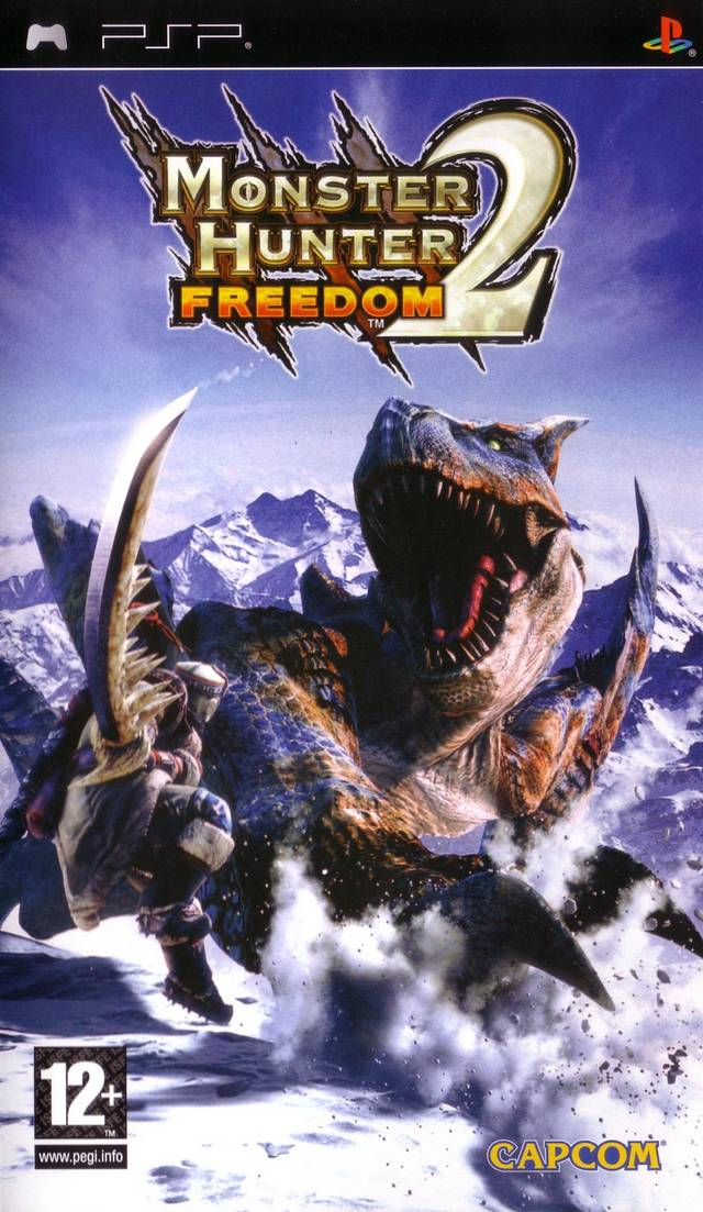 Monster Hunter 2 Freedom Cover Monster Hunter Know Your Meme