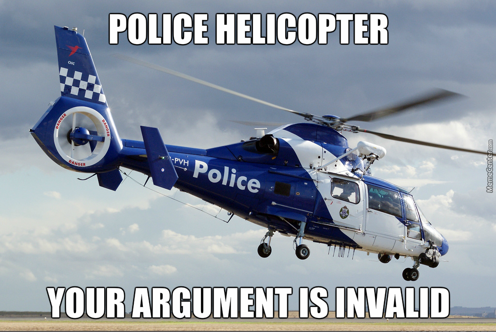 Ill Believe That When Pigs Fly Your Argument Is Invalid Know