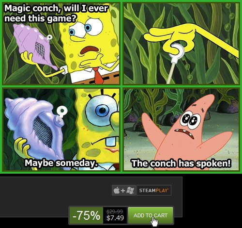 All Hail The Magic Conch The Magic Conch Shell Know Your Meme