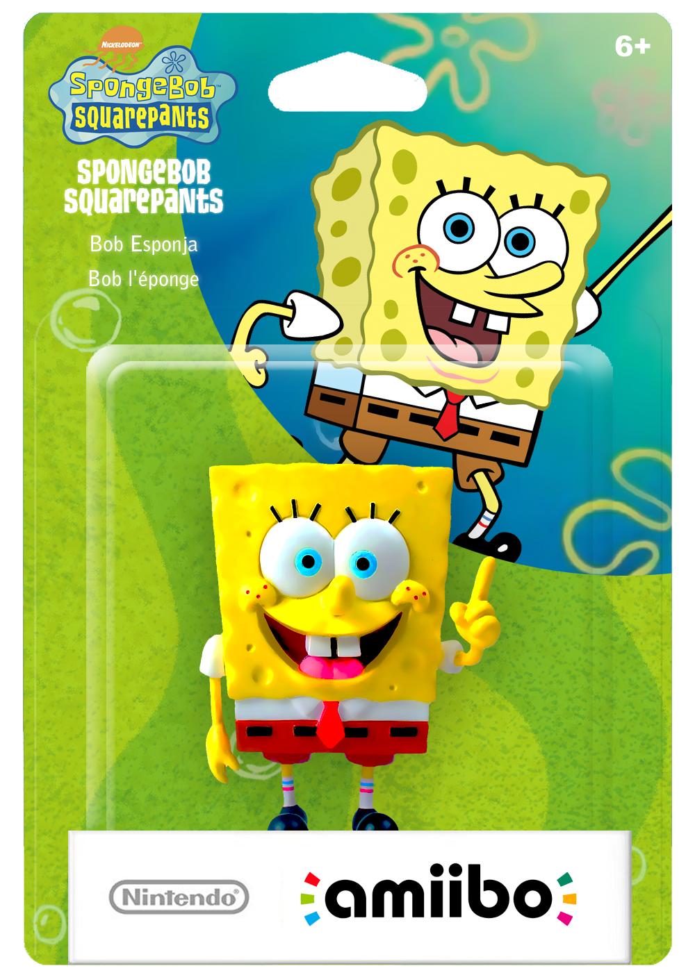6 nickelodeon spongebob squarepants spongebob squarepants bob esponja bob léponge nintendo