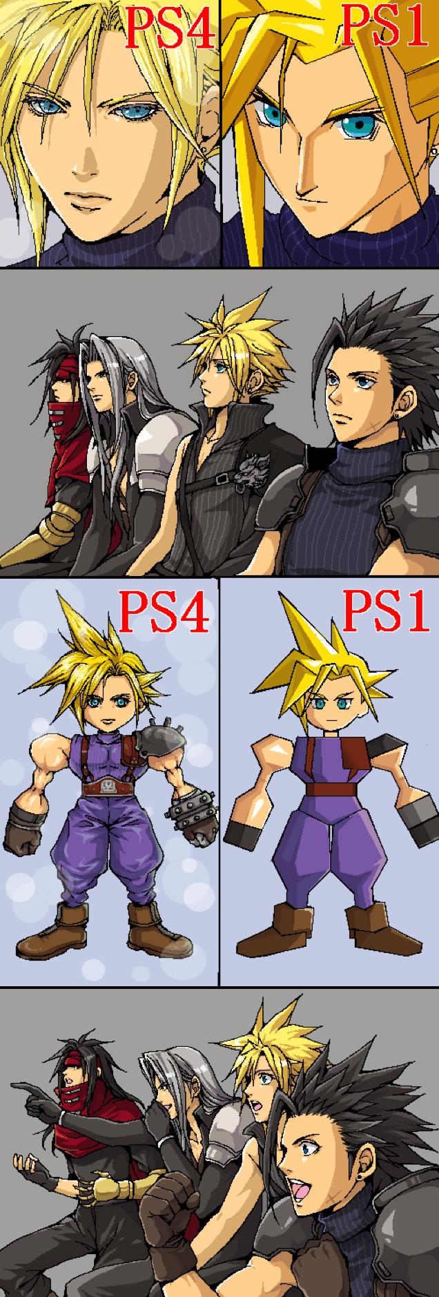 Ffvii Reaction Guys Final Fantasy Vii Know Your Meme