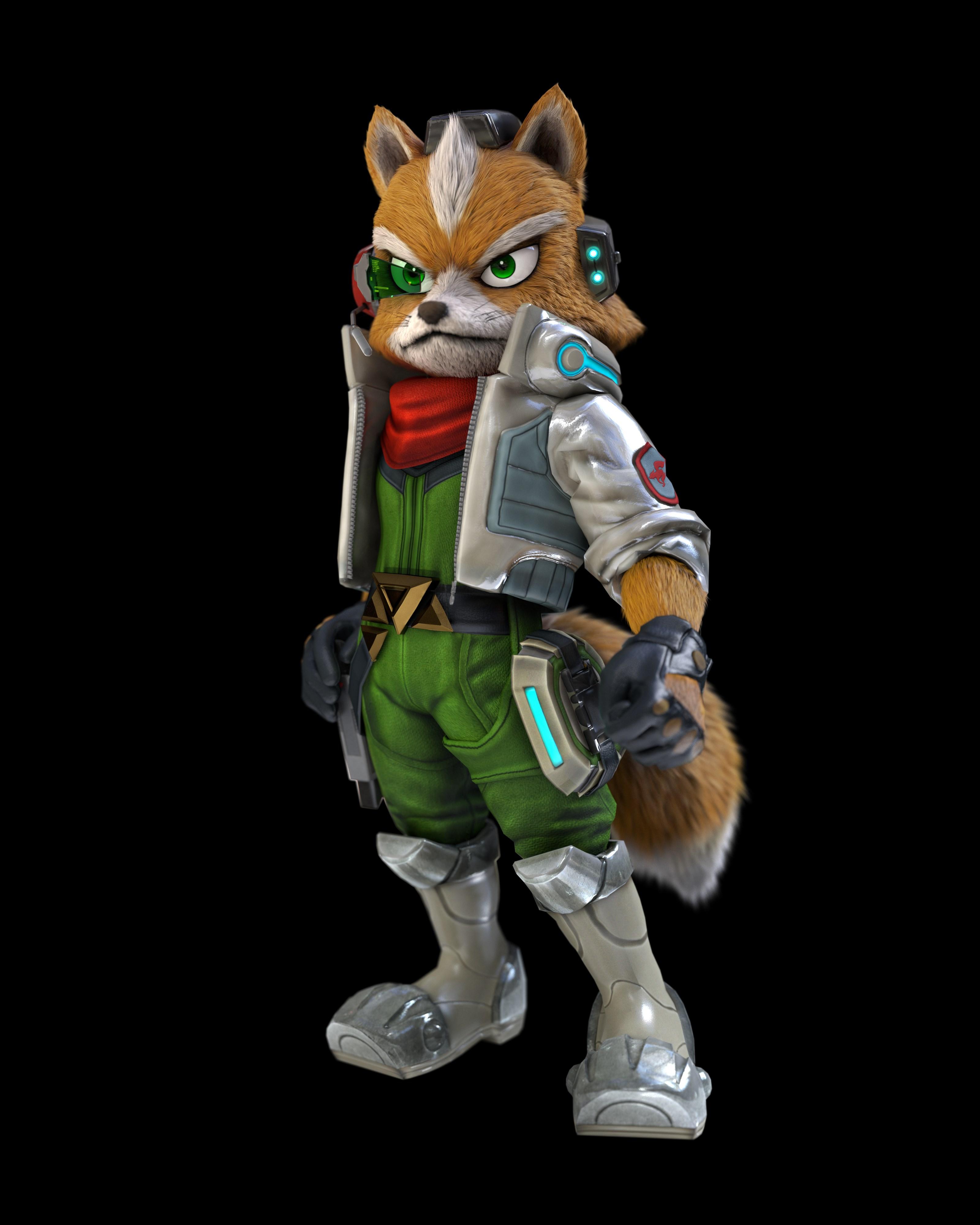 Fox Mccloud In Glorious Hd Star Fox Know Your Meme