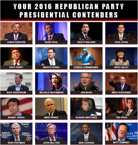 cobra 2016 2016 republican presidential primary know your meme