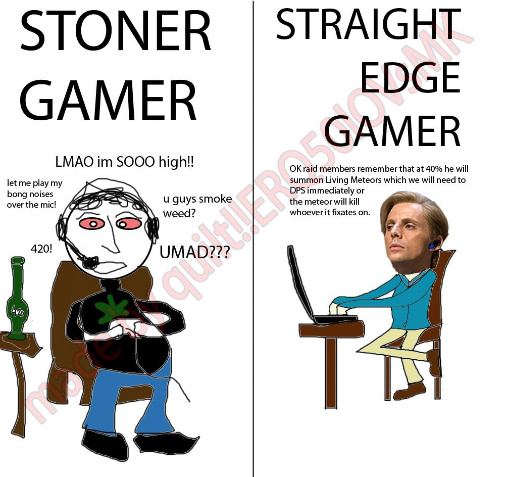 straight edge dating stoner