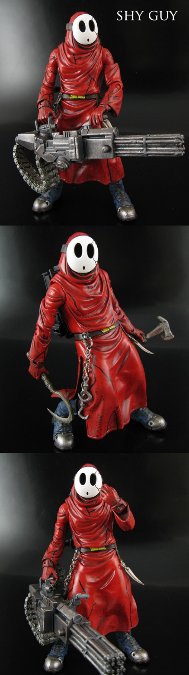 Custom Shy Guy Figure By Jin Saotome  Shy Guy  Know Your -3731